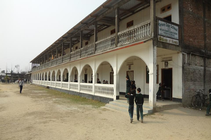 Greendale school - school building