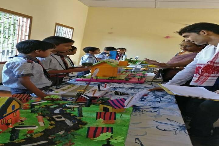 Green meadows school - school exhibition