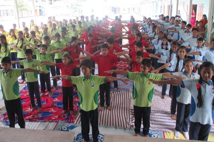 Green meadows school - yoga