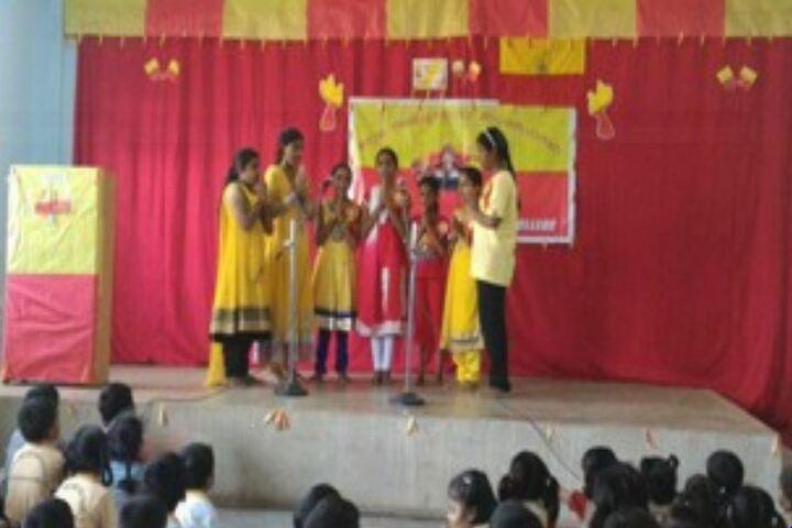 Mangalore One School-Singing Activity