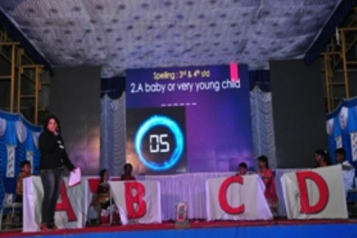 Mangalore One School-Spellbee Competition