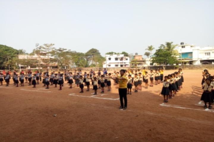 Mangalore One School-Yoga Activity