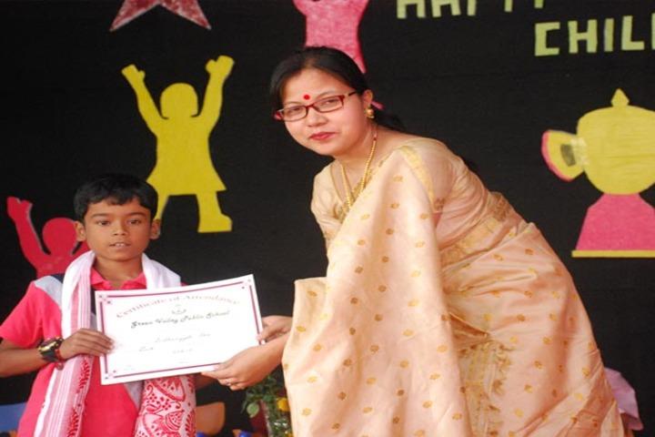 Green valley public school - certification