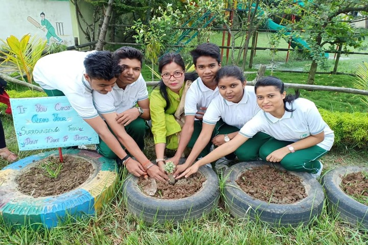 Green valley public school - go green