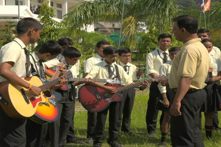 Green valley public school - music