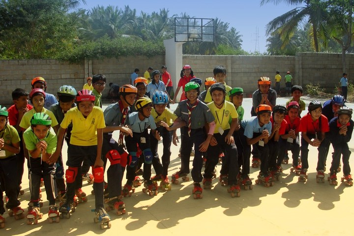 Maruthi Public School-Skating Activity
