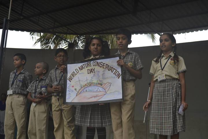 Maruthi Vidya Kendra-Nature Coversation Day