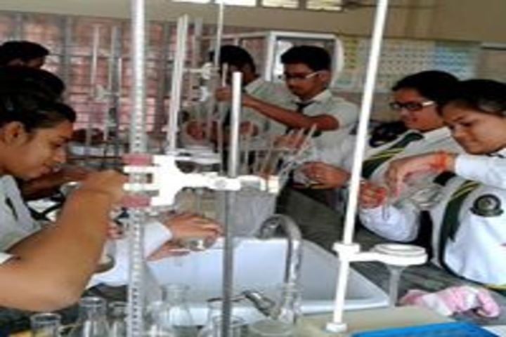 Gyan educational institution - chemistry lab