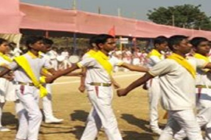 Gyan educational institution - march past