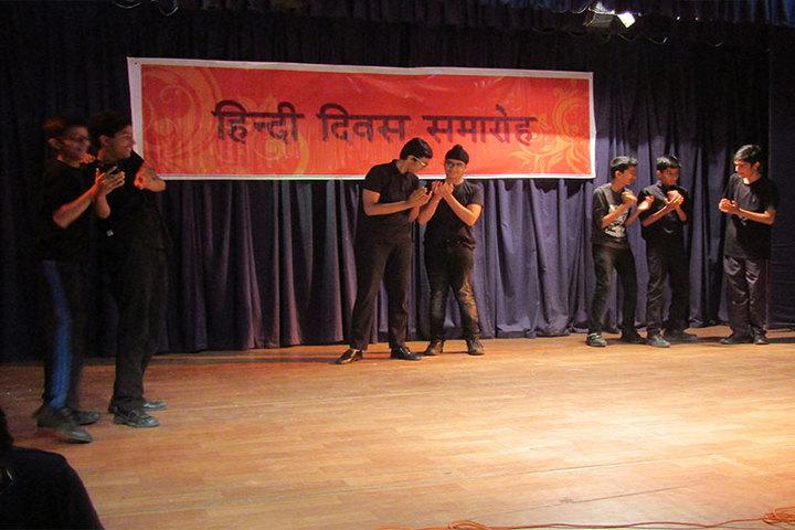 National Public School-Hindi Diwas