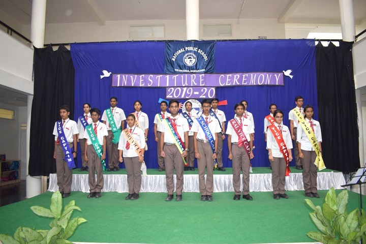 National Public School-Investiture Ceremony