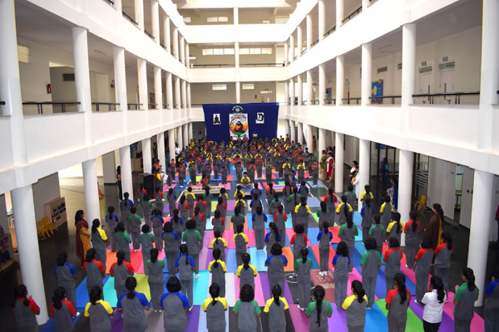 National Public School-Yoga