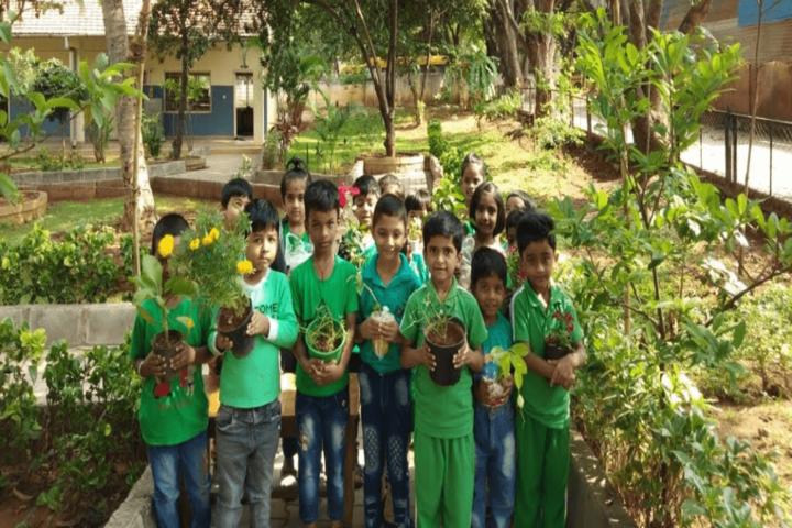 Navaprajna Public School-Environment Day