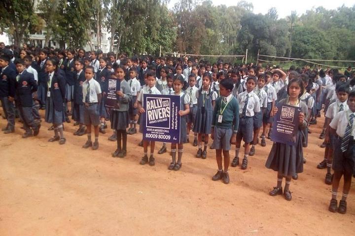 Navaprajna Public School-Rally for Rivers