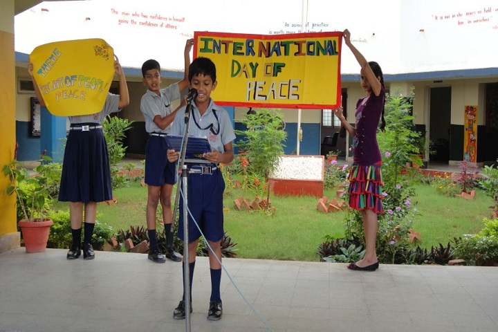 Navy Children School-International Day Peaces