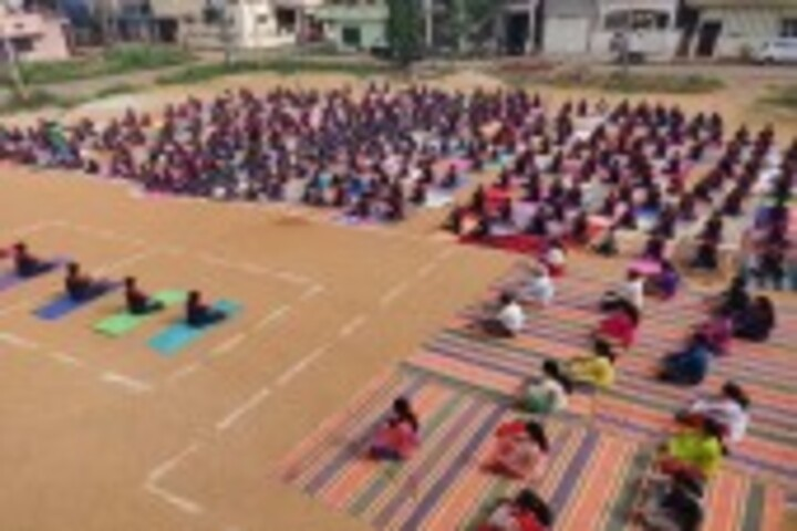 Nethaji Public School-Yoga Day