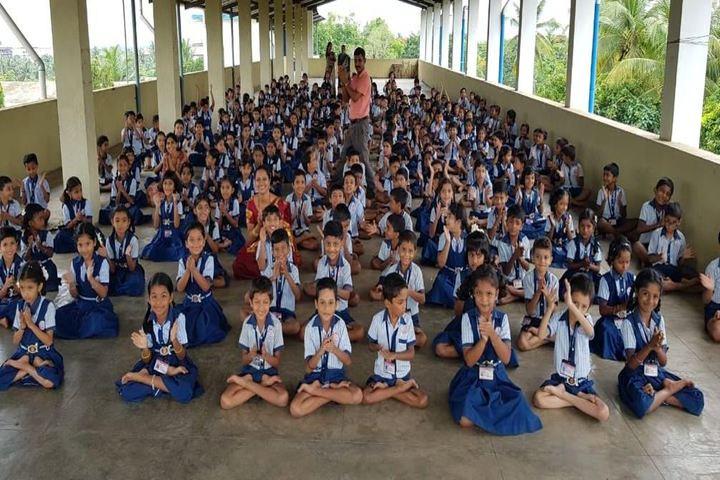 NITK English Medium School-Yoga Day