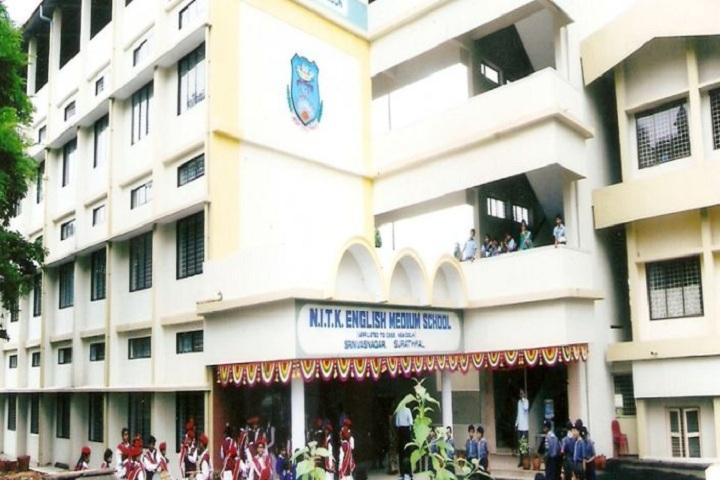 Nitk English Medium School-Campus View