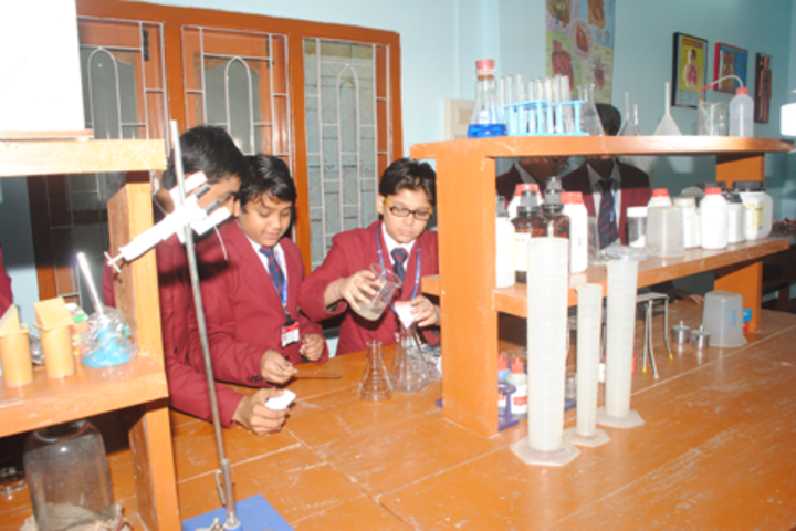 Heritage public school - science lab