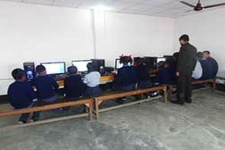 Hindustani Kendriya Vidyalaya-Computer lab