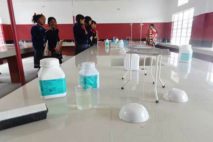 Hindustani Kendriya Vidyalaya-Science lab