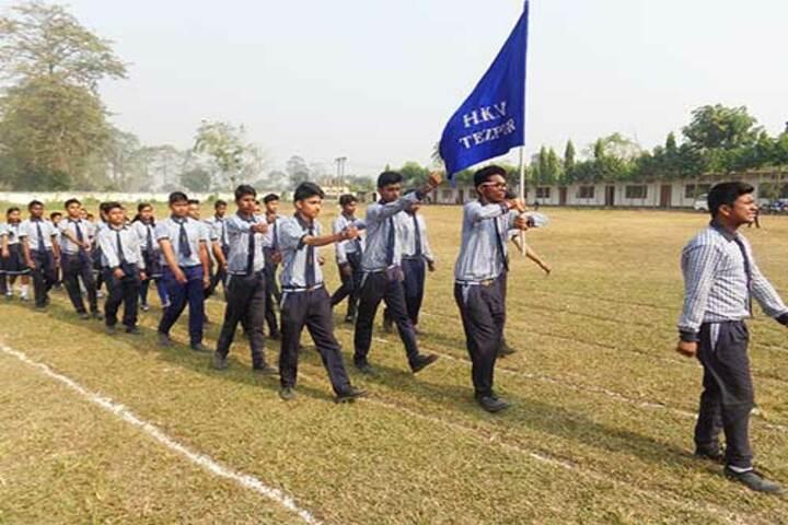 Hindustani Kendriya Vidyalaya-Sports day