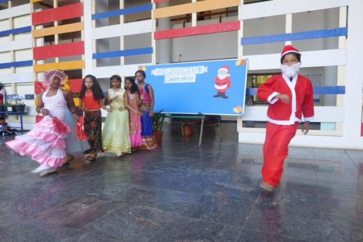 Podar International School-Christmas Celebrations