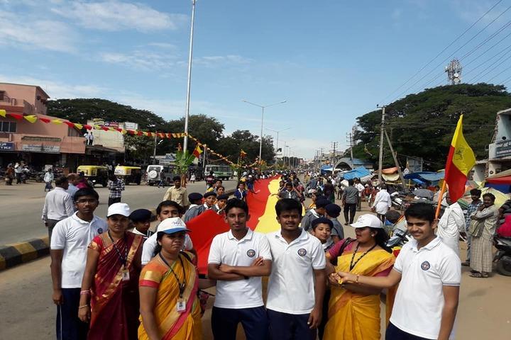 Poornachandra Public School-Rally