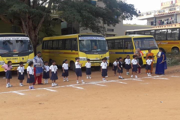 Poornachandra Public School-Running Race
