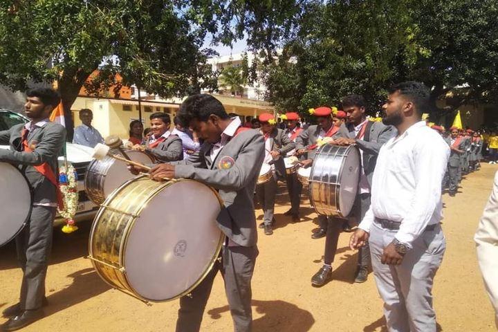 Pragathi The School-Musical Drum