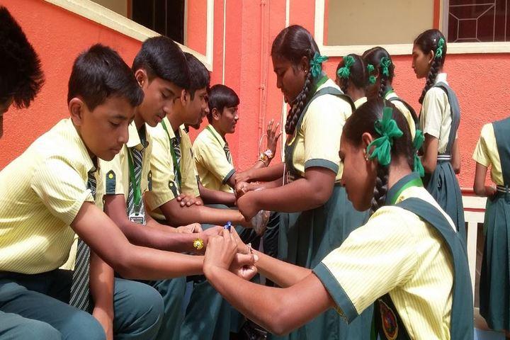 Pragathi The School-Raksha Bhandan