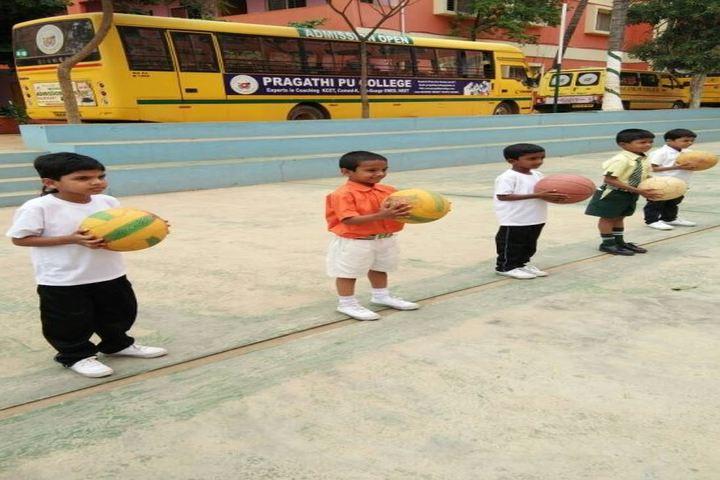 Pragathi The School-Sports