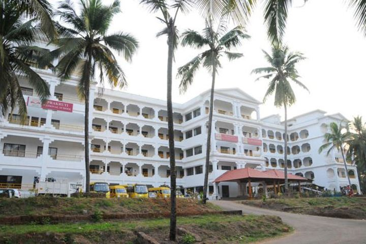 Prakruti National School-Campus View
