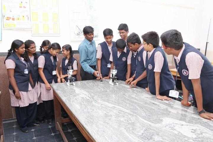 R L Jalappa Central School-Biology Lab