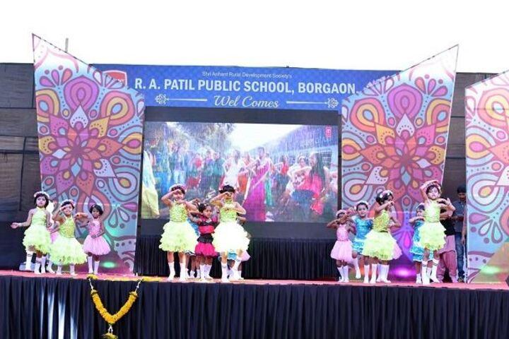 R A Patil Public School-Farewell
