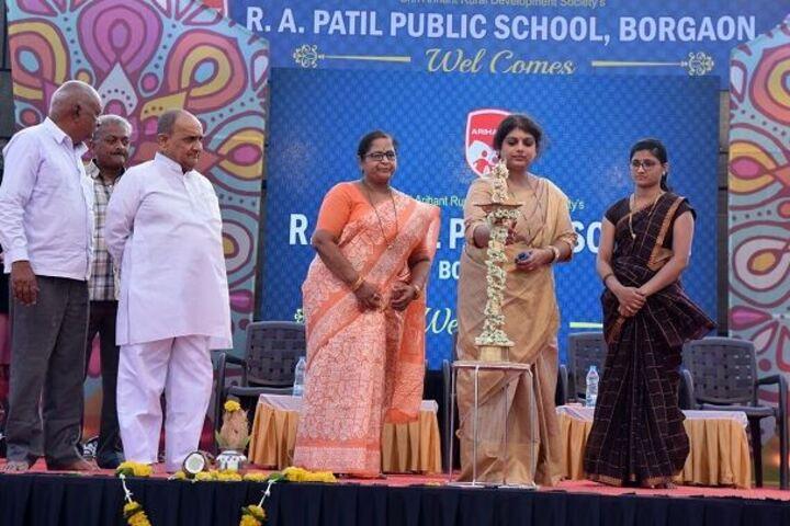 R A Patil Public School-Function