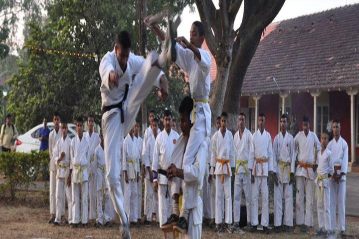 Rashtriya Military School-Karate Class