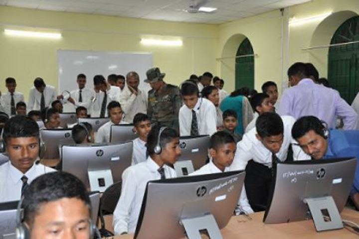 Rashtriya Military School-Language Lab
