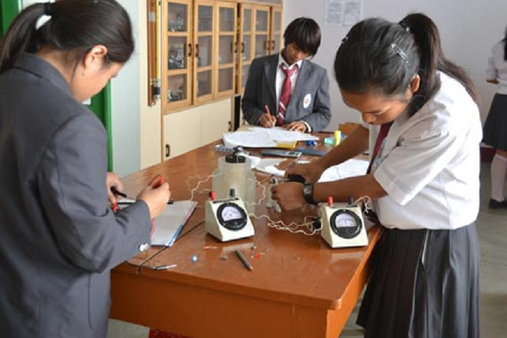 Holy Child School-physics  lab