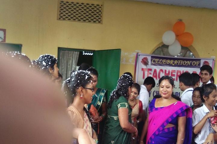 Holy Child Public School-Teachers day