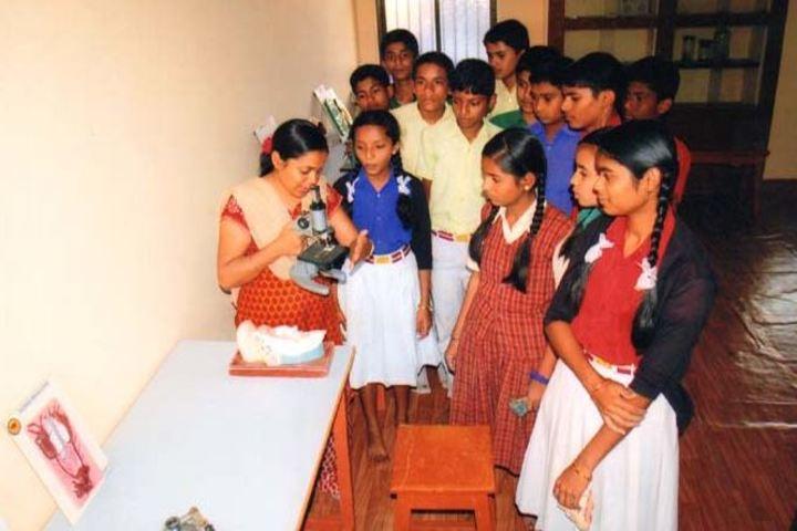 S B Darur Memorial English Medium School-Biology Lab