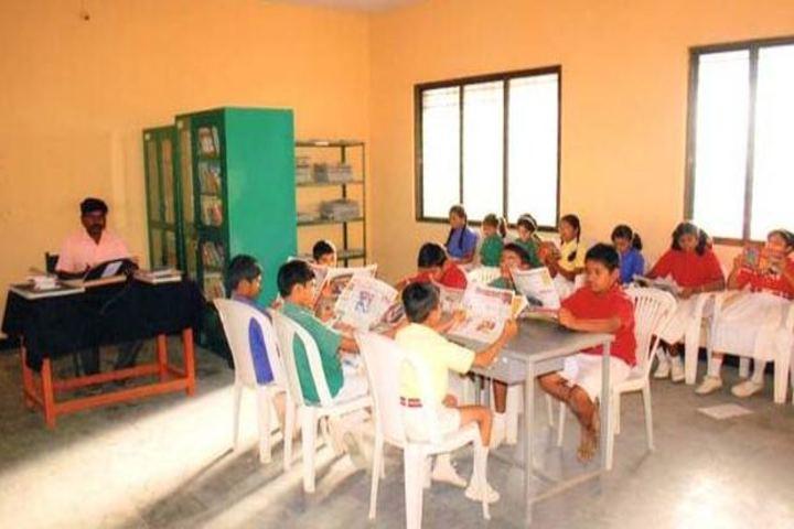 S B Darur Memorial English Medium School-Library