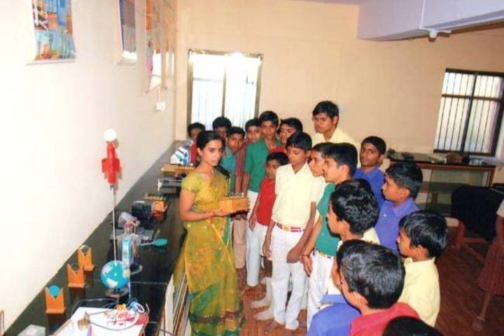S B Darur Memorial English Medium School-Physics Lab