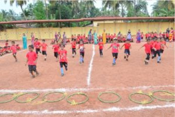 S M S English Medium School-Sports Day For KG