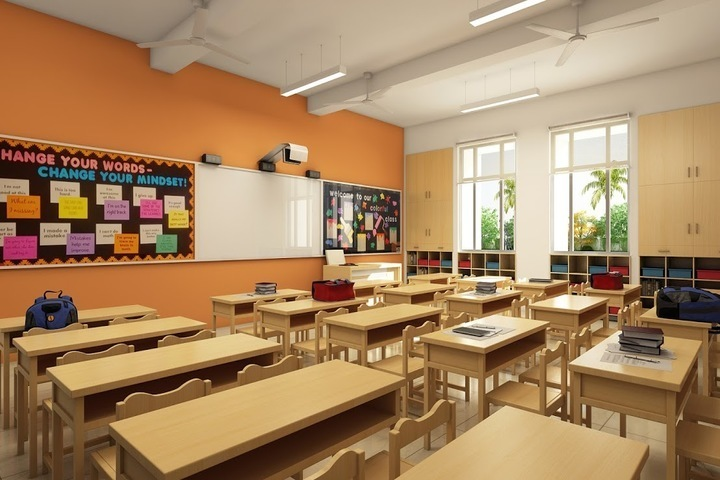 S R N Mehta School-Classroom