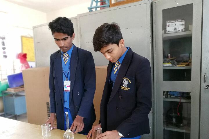 Saint Pauls English School-Chemistry-Laboratory