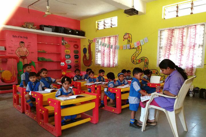 Saint Pauls English School-LKG-Classroom