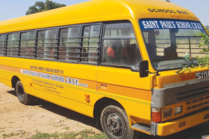 Saint Pauls English School-Shool-Bus