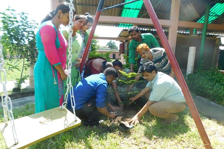 Indus Academy-Tree Plantation