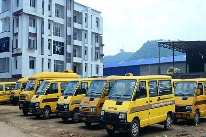 International School Guwahati-Transport